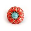 <strong>Sweet Romance</strong> Starflower Turquoise Ring