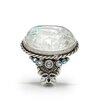 Sweet Romance Intaglio Sparkle Crystal Ring