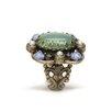 Sweet Romance Oval Jadeite Ring