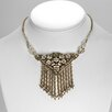 Sweet Romance Gatsby Deco Fringe Necklace