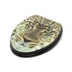 <strong>3D Series Leopard Head Elongated Toilet Seat</strong> by Topseat
