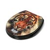<strong>Topseat</strong> 3D Series Tiger Round Toilet Seat