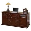 <strong>Huntington Club Double Pedestal Executive Desk</strong> by kathy ireland Home by Martin Furniture