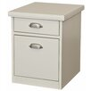 <strong>kathy ireland Home by Martin Furniture</strong> Tribeca Loft 2-Drawer Rolling File
