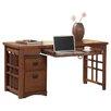 kathy ireland Home by Martin Furniture Mission Pasadena Laptop & Writing Desk