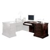 "<strong>kathy ireland Home by Martin Furniture</strong> Mount View 30"" H x 53"" W Right Hand Facing Keyboard Return for 74"" Executive Desk"
