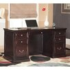 "kathy ireland Home by Martin Furniture Fulton 68"" Double Pedestal Executive Desk"