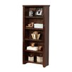 "<strong>kathy ireland Home by Martin Furniture</strong> Tribeca Loft - Cherry 61"" Bookcase"