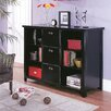 "<strong>Tribeca Loft 41"" H Three-Drawer File/Bookcase</strong> by kathy ireland Home by Martin Furniture"