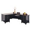 kathy ireland Home by Martin Furniture Tribeca Loft Executive Desk