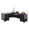 kathy ireland Home by Martin Furniture Tribeca Loft L-Shaped Desk