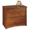 kathy ireland Home by Martin Furniture Mission Pasadena 2-Drawer  File