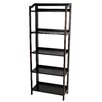 "Casual Home Stratford 60.25"" Folding Bookcase"