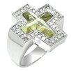 DeBuman Genuine White Gold Ring