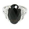 DeBuman Sterling Silver Gemstone Ring