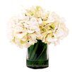 Creative Displays, Inc. Hydrangea in Acrylic Water Vase
