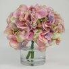 Creative Displays, Inc. Hydrangea in Glass Water Vase
