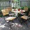 Haste Garden Rebecca Folding Round Dining Set