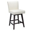 "<strong>Sunpan Modern</strong> Vintage 26"" Swivel Bar Stool with Cushion"
