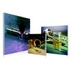 Artistic Bliss Musical Instrument 3 Piece Framed Photographic Prints Set