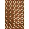 Abacasa Napa Giles Chocolate/Ivory Geometric Rug