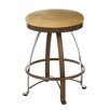 "<strong>Siba 24"" Swivel Bar Stool with Cushion</strong> by Createch"