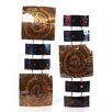 <strong>Fox Hill Trading</strong> Iron Werks Copper Pillows Mini Wall Décor