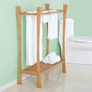 """Fox Hill Trading Bamboo 20"""" Wall Mount Tower Rack"""