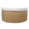 <strong>Sola Ottoman with Cushion</strong> by Selamat