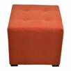 Sole Designs Merton 4 Button Tufted Square Ottoman