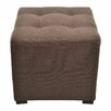 <strong>Merton 4 Button Tufted Square Ottoman</strong> by Sole Designs