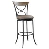 "<strong>Hillsdale Furniture</strong> Charleston 30"" Swivel Bar Stool with Cushion"