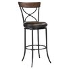 "Hillsdale Furniture Cameron 30"" Swivel Bar Stool with Cushion"