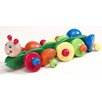 <strong>Sprinter Caterpillar Wooden Pull-Along Toy</strong> by Wonderworld