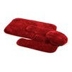 <strong>Traditional Bath Rug (Set of 3)</strong> by Garland Rug
