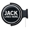 <strong>Jack Daniel's Lifestyle Products</strong> Old No. 7 Rotating Pub Light