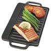 "<strong>Universal Housewares</strong> Pre-Seasoned 12.75"" Reversible Grill Pan and Griddle"