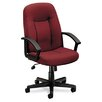 <strong>VL600 Series Mid-Back Chair with Loop Arms</strong> by Basyx by HON