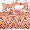 Trina Turk Residential 2 Piece Twin Duvet Set in Peacock Punch