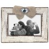 Malden Burlap Ribbon & Jewel Picture Frame
