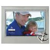 "<strong>Malden</strong> 4"" x 6"" Anchor Beaded Metal Picture Frame"