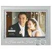 "Malden 4"" x 6"" Beaded Wedding Rings Picture Frame"