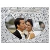 <strong>Malden</strong> Just Married Double Hearts Picture Frame