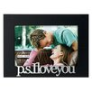 "Malden 4"" x 6"" P.S. I Love You Picture Frame"