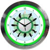 """<strong>15"""" Golf Neon Clock</strong> by Neonetics"""
