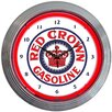 "<strong>Neonetics</strong> Crown 15"" Gasoline Neon Wall Clock"