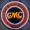 Neonetics GMC Trucks Neon Sign with Backing