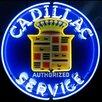 Neonetics Cadillac Service Neon Sign