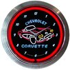 "<strong>Neonetics</strong> 15"" Corvette C1 Wall Clock"