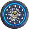 """Neonetics Cars and Motorcycles 15"""" Oldsmobile Service Wall Clock"""
